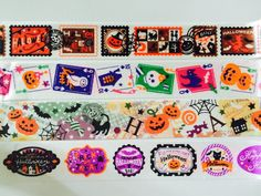 Halloween Washi Tape in 4 Patterns by GoatGirlMH on Etsy