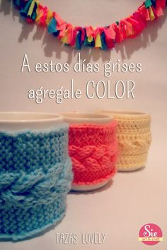 Color a todos tus días ♥ Crochet Necklace, Arts And Crafts, Rugs, Home Decor, Mugs, Colors, Farmhouse Rugs, Decoration Home, Crochet Collar