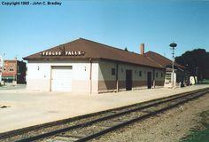 minnesota railroad stations | fergus falls