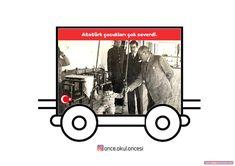 Atatürk Treni Atatürk Haftası Grafiği Classroom Activities, Baby Strollers, Acting, Kindergarten, Preschool, Mandala, Drama, Photo And Video, Education