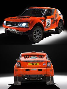 Land Rover x Bowler EXR Bowler is a British rally car maker that has teamed up with Rover to create the new supercharged EXR S. Here's the deal: a road-legal rally rig, 550 hp, roll cage, leather interior. In other words, perfect for Dakar or dad duty.