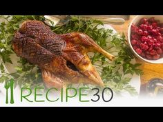 Roast Duck With Cherries – Easy Meals with Video Recipes by Chef Joel Mielle – RECIPE30