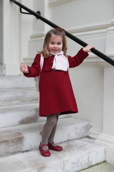 Princess Charlotte Arrives for Her First Day of Nursery School