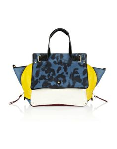 Jerome+Dreyfuss+Johan+Leather+and+Leopard-Print+Canvas+Shoulder+Bag+%23refinery29