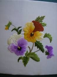 pansy needlepoint - Google Search