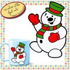 Svg snowman svgsnowman cut filewinter svgchristmas