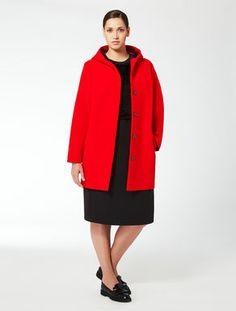 Giaccone in doppio di lana. Marina Rinaldi 49b14cf8e71
