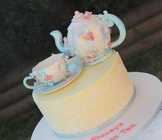 tea pot cake | Flickr - Photo Sharing!