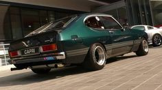 Ford Capri - Sexy!! Ford Motor Company, Mercury Capri, Ford Sierra, Ford Capri, Ford Escort, Ford Focus, Drag Racing, Motor Car, Custom Cars