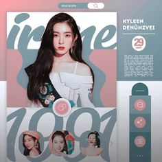 template sines was born by avgust by avgustsenpai on DeviantArt Aesthetic Themes, Kpop Aesthetic, Graphic Design Posters, Graphic Design Inspiration, Graphic Artwork, Overlays Tumblr, Aesthetic Template, Red Velvet Irene, Cover Template