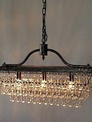 Chandelier ,  Traditional/Classic Electroplated Feature for Crystal Metal Bedroom Dining Room Study Room/Office Hallway – CAD $ 298.99