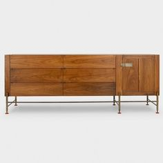 Shop SUITE NY for the M.A. Hardwood Credenza by Mark Albrecht Studio and more modern rustic hardwood consoles and organizational systems