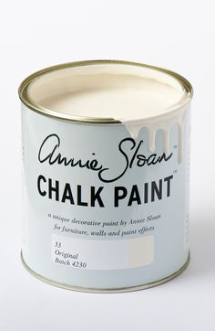<p>A warm, slightly creamy, traditional white, Original is the colour of old painted furniture. It is perfectly paired with Duck Egg Blue, Antoinette and Louis Blue for a delicate old distressed French look.</p> <p>Available in 100ml small project pots and 1 litre tins.</p> <p>*NB. Original is not currently available in North America or Australia and New Zealand.</p>