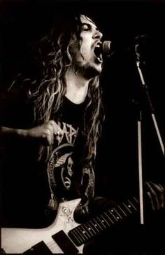 Max Cavalera of Sepultura/Soulfly/Cavalera Conspiracy and the awesome and sadly short lived Nailbomb