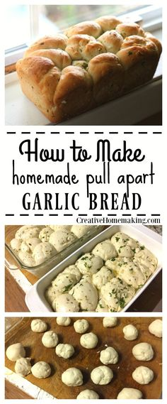 Did you even know that pull apart bread is a thing?! This homemade pull apart garlic bread will melt in your mouth.