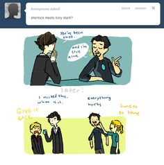Iron Man/Sherlock