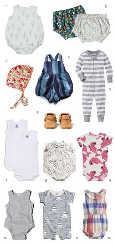 When getting clothing as a baby gift consider getting extra adorable pieces new mamas might not splurge on themselves. Here are a few favorite brands…