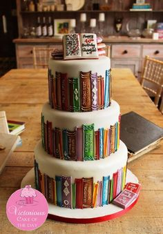 "Book Cake; I'd like to add my own book to this collection...""With Love The Argentina Family~ Memories of Tango and Kugel; Mate with Knishes"", http://www.amazon.com/With-Love-The-Argentina-Family/dp/1478205458"