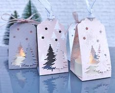 Schnipsel & MEHR: Gastgeschenke für Hl. Abend Christmas Crafts For Kids To Make, Christmas Paper Crafts, Stampin Up Christmas, Christmas Wrapping, Christmas Tag, Christmas Decorations, Christmas Ornaments, Minimal Christmas, Natural Christmas
