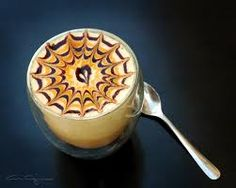 Another amazing photo about ice cappucino that impressed me, it symbolized a need of love to drink it in my opinion.