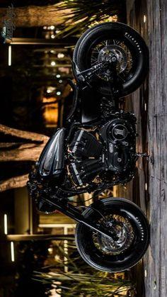 Bobber Motorcycle, Bobber Chopper, Custom Trucks, Custom Bikes, Custom Sportster, Harley Davidson Motor, V Rod, Bmw Cafe Racer, Mens Gear