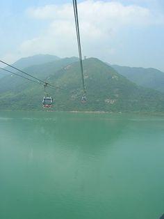 Ngong Ping cable car, Hong Kong