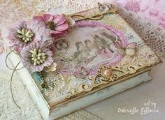 Book Treasure Box Tutorial by Gabrielle Pollacco