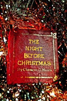 christmas the night before christmas book ornament the night before christmas christmas makes - Twas The Night Before Christmas Decorating Ideas