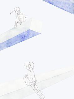 kfkx:  ねじれの関係 How To Draw Painting, Walpurgis Night, Japanese Illustration, Illustrations, Japan Art, Japanese Artists, Lettering, Types Of Art, Magical Girl