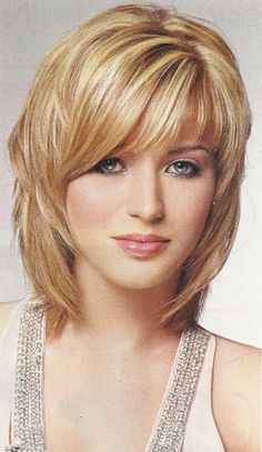 Layered Hairstyles For Round Faces | Layered Shag Haircut For Round Face Long Layered Haircuts