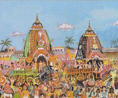 Dandavats   Hare Krishna Festival of Chariots winds through Brisbane