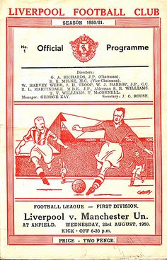 Official programme, Division one Liverpool History, Fc Liverpool, Liverpool Football Club, Bob Paisley, This Is Anfield, Derby County, You'll Never Walk Alone, Football Program, Illustrations And Posters