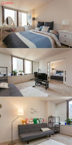 This one bedroom apartment in a high rise building is located in downtown Chicago in the magnificent Mile area. You'll have plenty of exciting amenities including an indoor pool, gym, and tennis court.