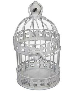 Birdcage Wedding Card Box Holder Set / Wishes / by SophieAtelier, $25.00