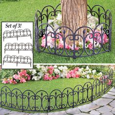 Outdoor Garden Decor Made of Iron and Holds Up to 250 lbs Collections Etc Colorful Butterfly Garden Scrolling Rocking Chair