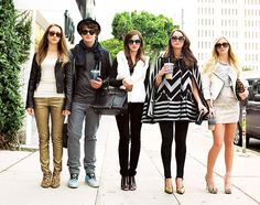 The cast of 'The Bling Ring'. LA culture at its finest...j/k!! I'm so happy I don't live in LA.