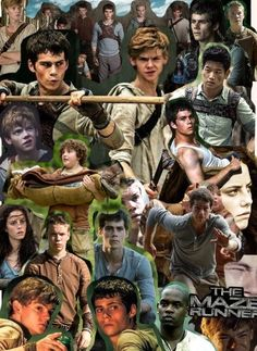 The Maze Runner Phone Wallpaper Made by Daisy on pic collage