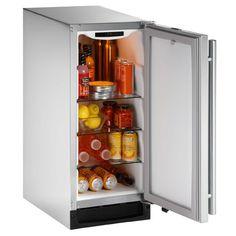 Refrigerators 20713: U-2115Rsod-00 - 15 Uline Under Counter Outdoor Fridge-Stainless Steel-Nib -> BUY IT NOW ONLY: $1399 on eBay!