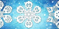 Comment faire des flocons de neige en papier Reine des neiges ?