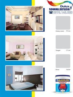 Bảng màu sơn Dulux Maxilite kinh tế trong nhà pha sẵn 02/04