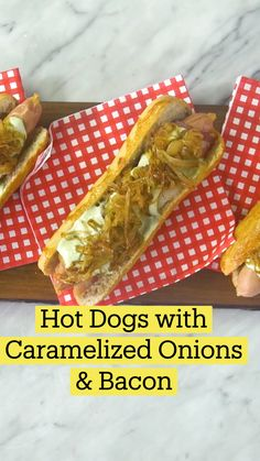 Good Food, Yummy Food, Hot Dog Recipes, Aesthetic Food, Aesthetic Outfit, Wrap Sandwiches, Caramelized Onions, Hot Dogs, Food To Make