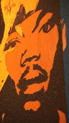 Chance up close. Follow #gripptide #design #skateboard #griptape #art #skateboardart #chancetherapper #music