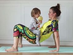 Trening z dzieckiem w domu – porady fit mamy