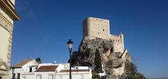 Fortaleza de Olvera (Cadiz) uno de los pueblos blancos de Andalucia contruido en el  siglo XII por los cristianos despues de la reconquista sobre la fortaleza arabe