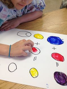 ARTipelago Mondrian Animals Fingerpainting And Edible Color Wheels
