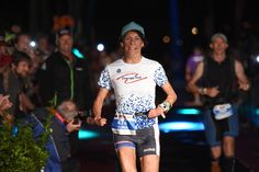 Turia Pitt completes an Ironman, after being told she would never run again after suffering horrific burns on 65% of her body