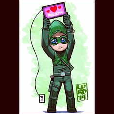 Arrow — Oliver  AHHHH! Lord Mesa is one of my fave fan artists! :D