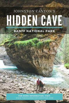 Exploring Johnston Canyon's Hidden Cave // Banff National Park // Alberta, Canada