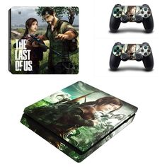The Last of us Ps4 slim edition skin decal for console and 2 controllers