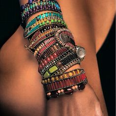 Ziio colourful mix of bracelets. Which one is your favourite?